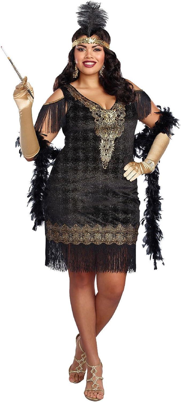 Dreamgirl Women's Swanky Flapper Plus Size