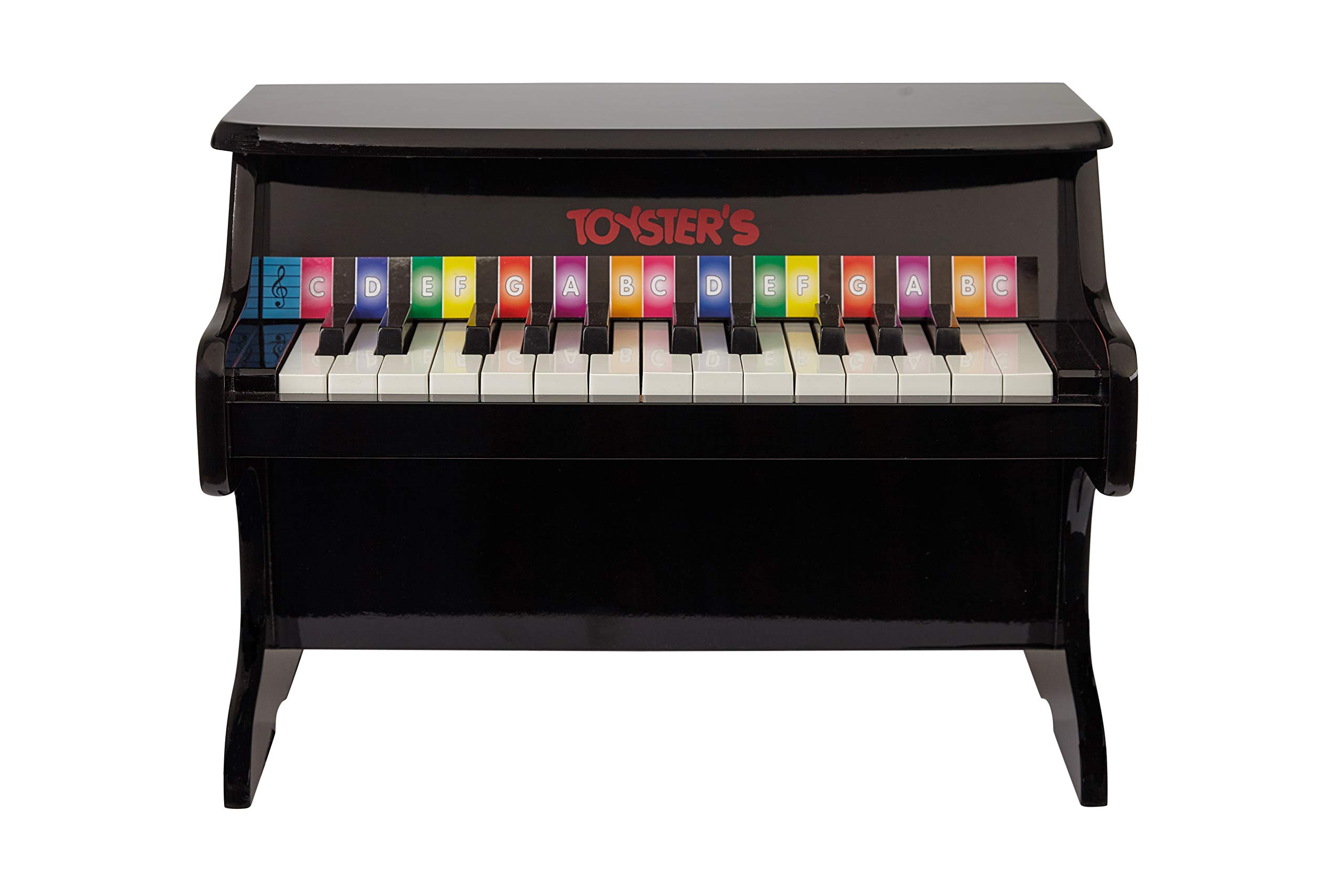 Toysters Toddler Piano Keyboard Toy | Fun Educational Learning Toys | Wonderful Kids Birthday Gift | Musical Toy with 25 Keys and Colorful Song Book | Help Children Discover Their Love of Music MU935 by TOYSTER'S