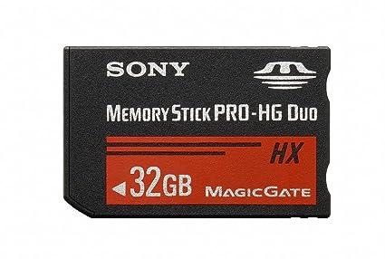 amazon com sony 32 gb ms pro hg duo hx high speed memory card