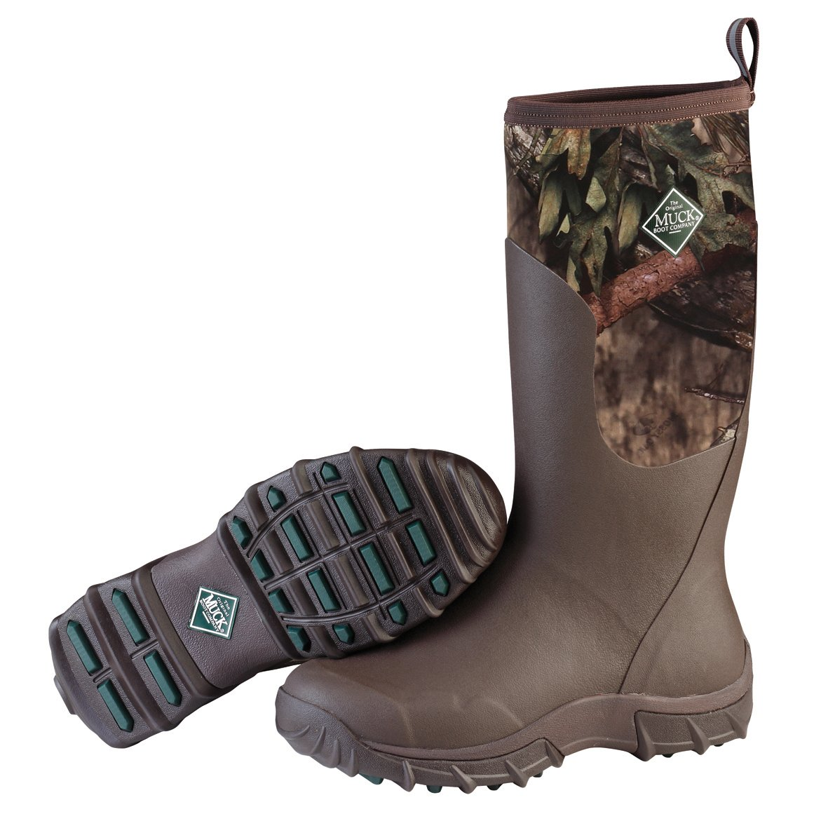 Muck Boot Men's Woody Sport II Hunting Shoes, Bark/Mossy Oak, 10 US/10-10.5 M US