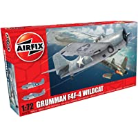 Airfix Grumman Wildcat F4F-4-1:72 Scale Model Kit