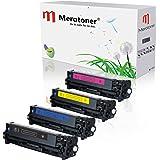 4 x Toner Kompatibel zu HP Color LaserJet CE320A-CE323A 128A HP CLJ CP1525, CP-1525nw CM1415 CM-1415fnw CM1415 CM-1415MFP
