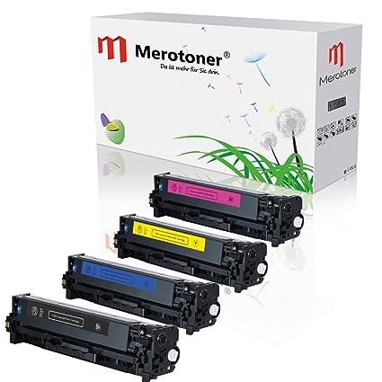 Toner-mero - Kit de 4 cartuchos de tóner compatibles para ...