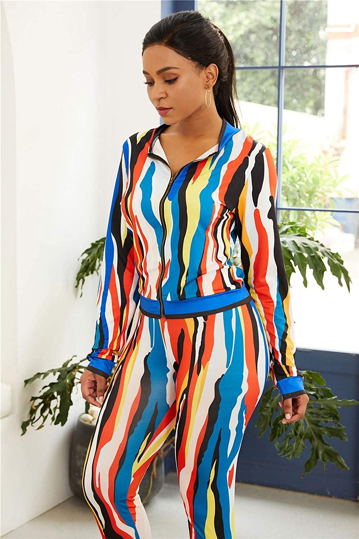 LOVARTS BEAUTY Women Casual Digital Print Long Sleeve Tops and Pants