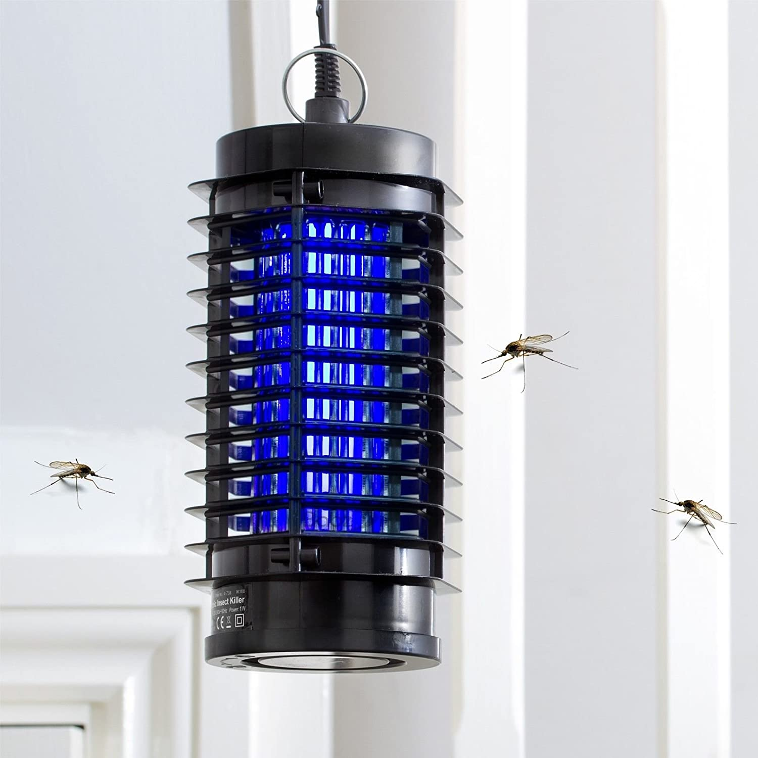 Babz Electronic UV Insect Fly Pest Mosquito Killer Electric Zapper 3W Mains Powered Insect Killer