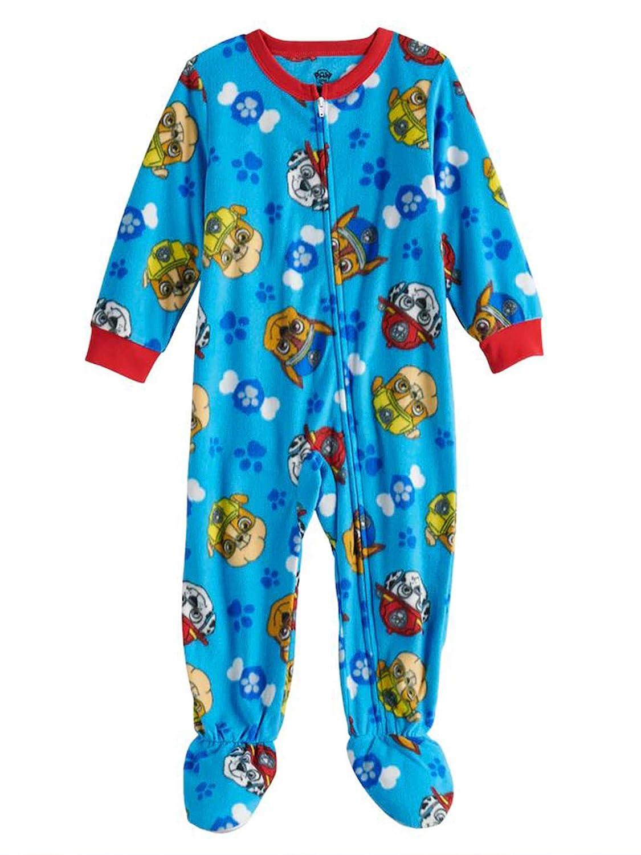 PAW Patrol Fleece Footed Pajama Toddler Boy Multi