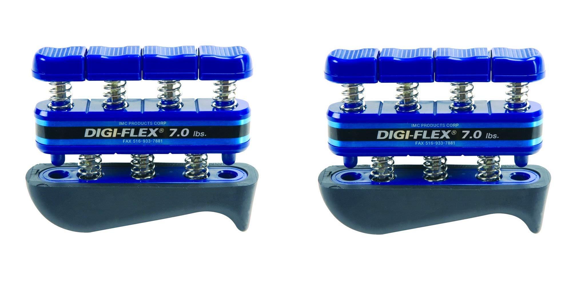 Digi-Flex Blue Hand and Finger Exercise System, 7 lbs Resistance (2-Pack)