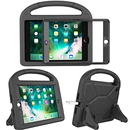 timeless design bccf7 c3719 TIRIN Kids Case for iPad Mini 1 2 3 with Built-in Screen Protector, iPad  Mini Case-Shockproof Lightweight Hard Cover Handle Stand Kids Case for iPad  ...