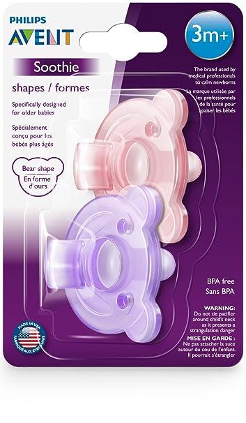 Amazon.com: Philips AVENT SCF194/05 soothie forma, 3 m + 2pk ...