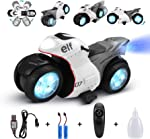 RC Motorcycle for Kids,Remote Control Car Toy for Boy and Girl,360°