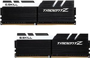 G.SKILL TridentZ Series 16GB (2 x 8GB) 288-Pin DDR4 SDRAM DDR4 3200 (PC4 25600) Intel Z170 Platform Desktop Memory Model F4-3200C14D-16GTZKW