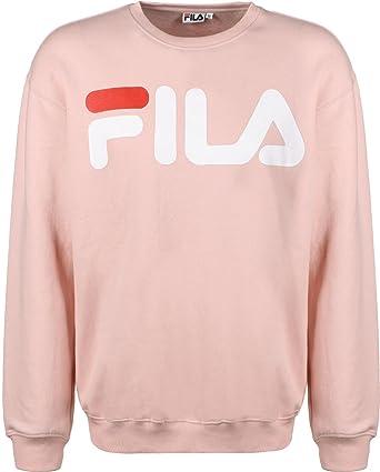 Fila donna FILA FELPA UNISEX CLASSIC LOGO 680431 Rosa L (ITA ...