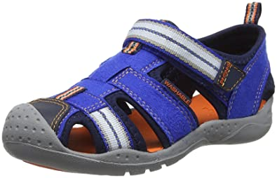 ca996c56e881 pediped Boys  Sahara Closed Toe Sandals
