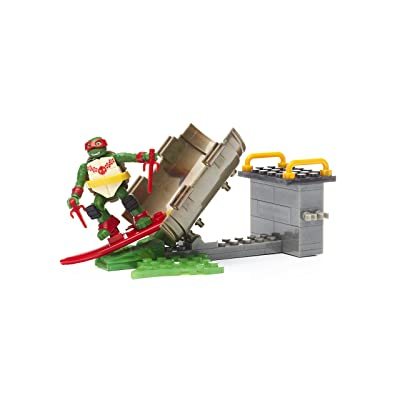 Mega Construx Teenage Mutant Ninja Turtles Raph Sewer Surf Building Set: Toys & Games