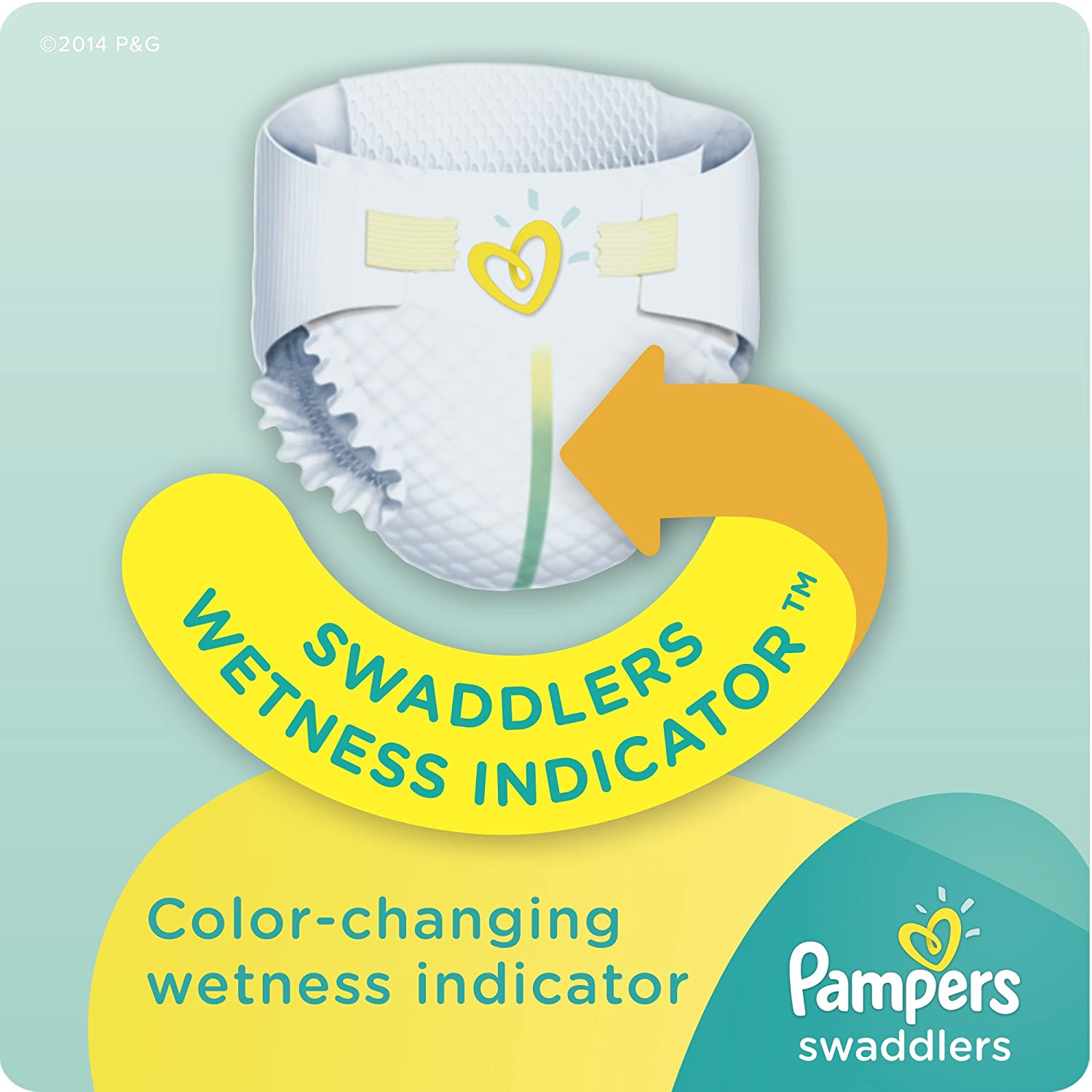 Amazon.com: Pampers Swaddlers Diapers Size 5, 62 Count: Health ...