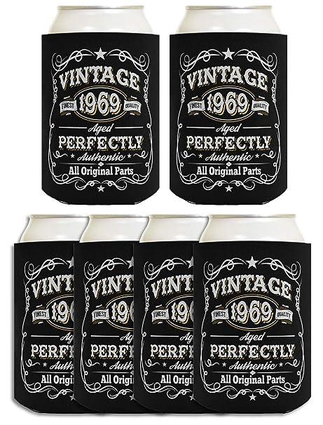 Amazon.com: 50 cumpleaños regalos vintage 1969 envejecido ...