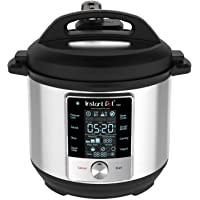 Instant Pot Max 6 Quart Multi-use Electric Pressure Cooker with 15psi Pressure Cooking, Sous Vide, Auto Steam Release…