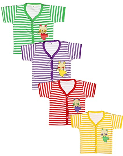 f96c617bf Babeezworld Baby Cotton Front Open Half Sleeves Cut Sleeve ...
