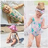 Cenhope Infant Baby Girls One-Piece Swimsuit