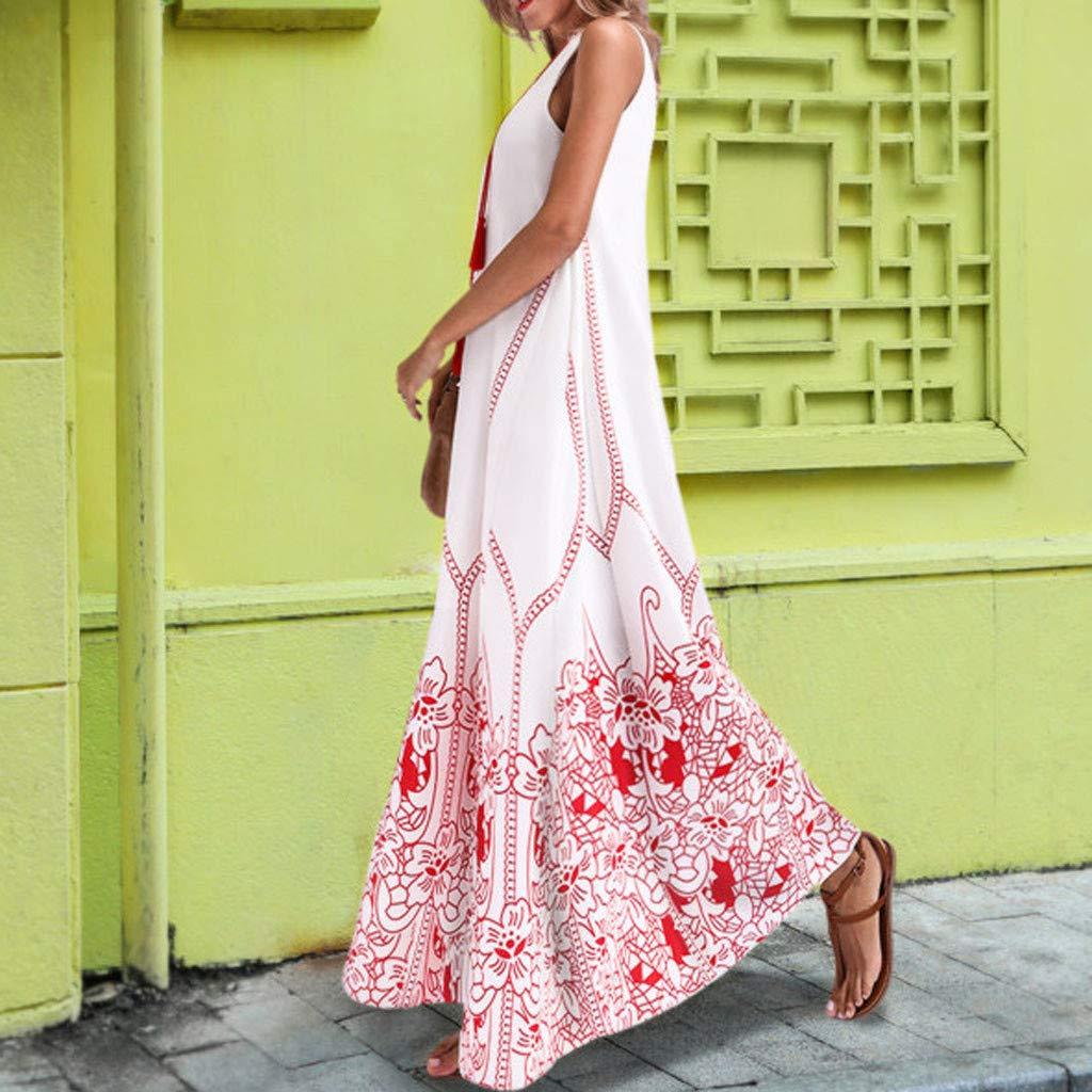 Yellsong Oversized Tassel Maxi Dress,Vintage Long Dress for Women, Summer Boho Dress Oversized Tassel Maxi Dresses for Travel Beach Holiday Party by Yellsong-Clothing (Image #4)