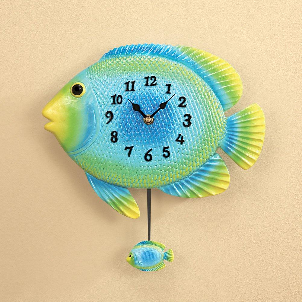 Amazon.com: Fish Wall Clock: Home & Kitchen