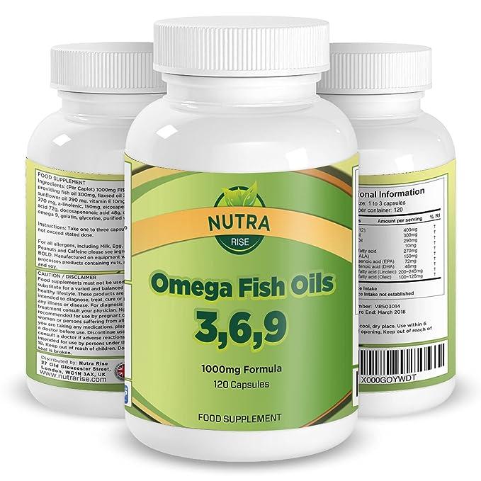 Píldoras de Aceite Omega de Pescado. El mejor suplemento ...