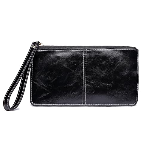 3464c18343 Miss Lulu PU Leather Wallet Women Fashion Large Capacity Hand Wallet Purse  Bag Card Holder Case