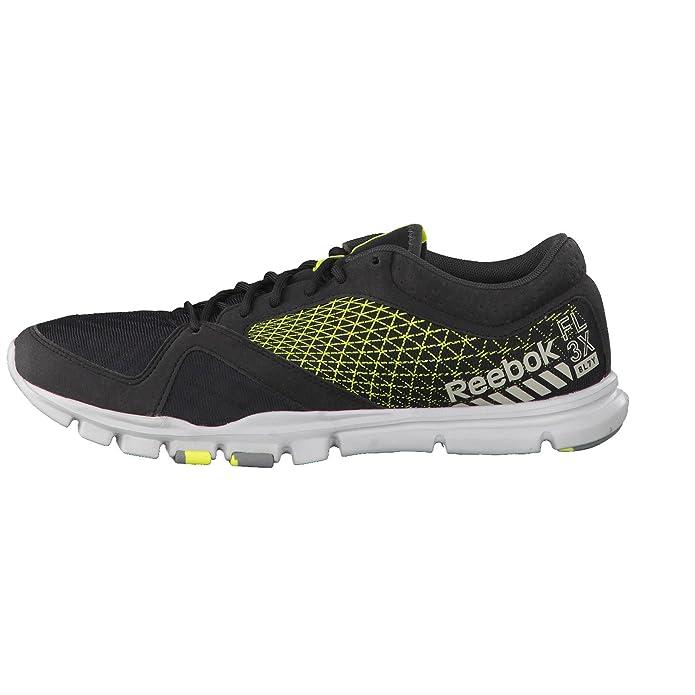 Reebok Yourflex Train 7.0, Chaussures de Fitness Hommes - Noir -  Black/Yellow/Steel/GR, M: Amazon.fr: Chaussures et Sacs