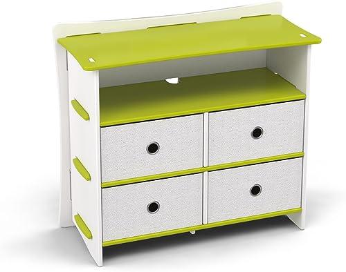 Legar Furniture Children's Sturdy 4-Drawer Dresser