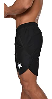 YoungLA Mens Running Shorts Athletic Gym Jogging Workout Powerlifting with Front Pockets 104