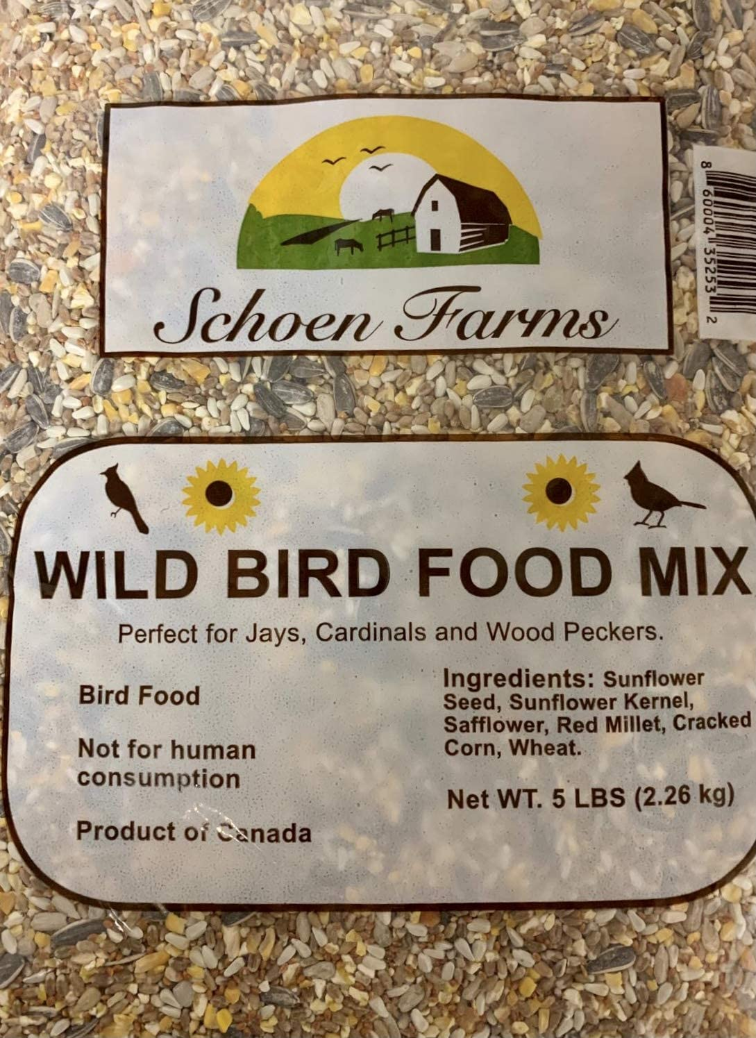 Schoen Farms Wild Bird Food Mix