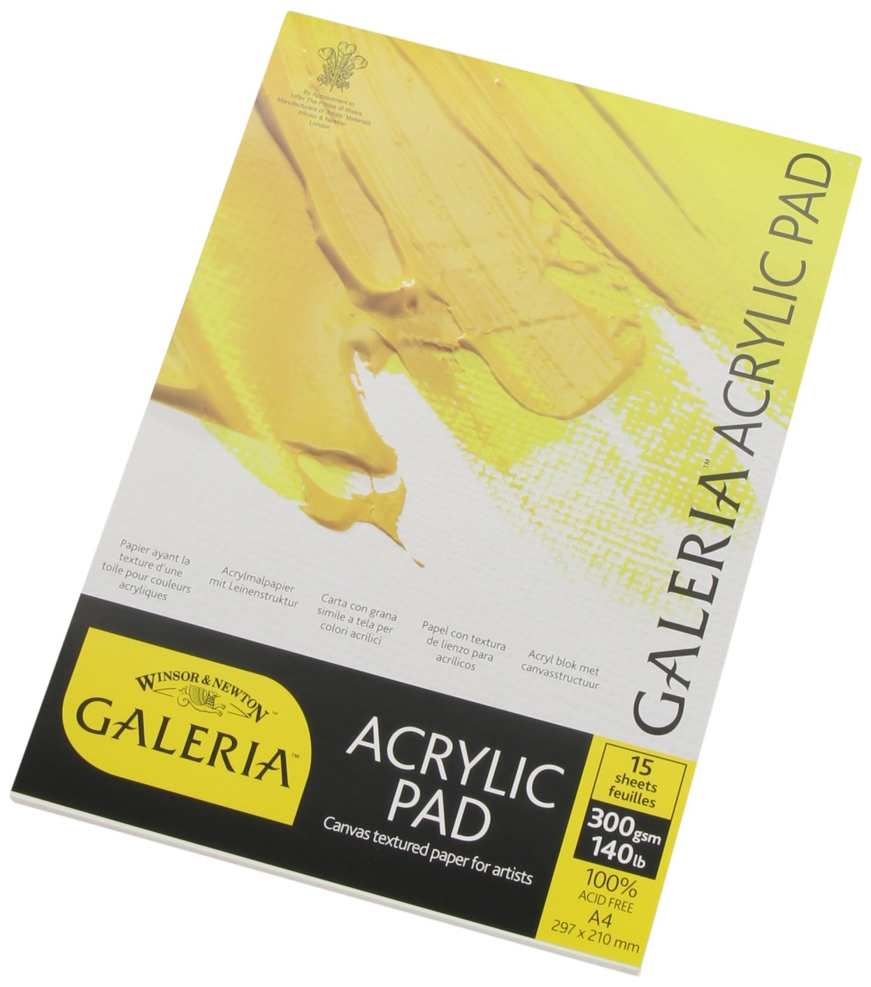 Winsor /& Newton 16x2 Galeria Acrylic Paper Pad