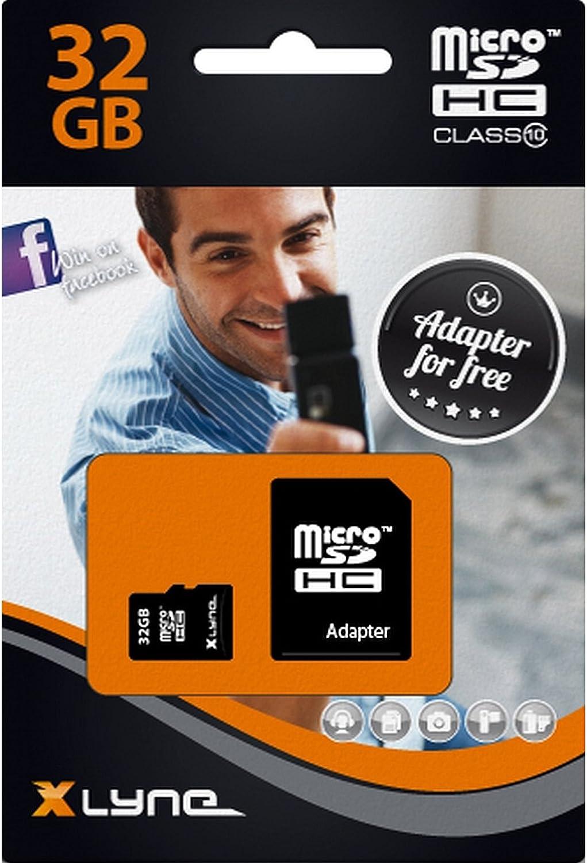 Xlyne Micro Sdhc Speicherkarte Mit Adapter 32 Gb Class Computer Zubehör
