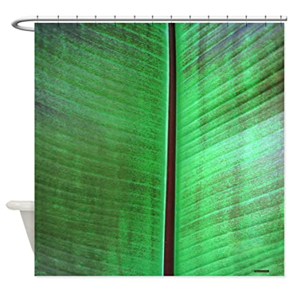 CafePress Banana Leaf Tropical Shower Curtain Decorative Fabric 69quot