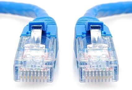 SoDo Tek TM RJ45 Cat5e Ethernet Patch Cable for TP-Link TL-WDR4310 Blue 25 ft