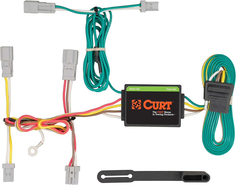 Amazon.com: CURT 56231 Vehicle-Side Custom 4-Pin Trailer Wiring Harness,  Fits Select Acura TL: Automotive | Acura Slx Wire Harness |  | Amazon