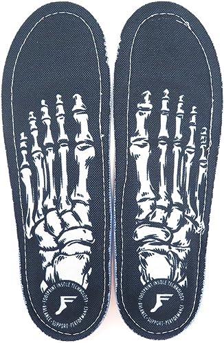 [フットプリント] INSOLE インソール KINGFOAM ORTHOTIC SKELETON BLACK スケートボード スケボー SKATEBOARD