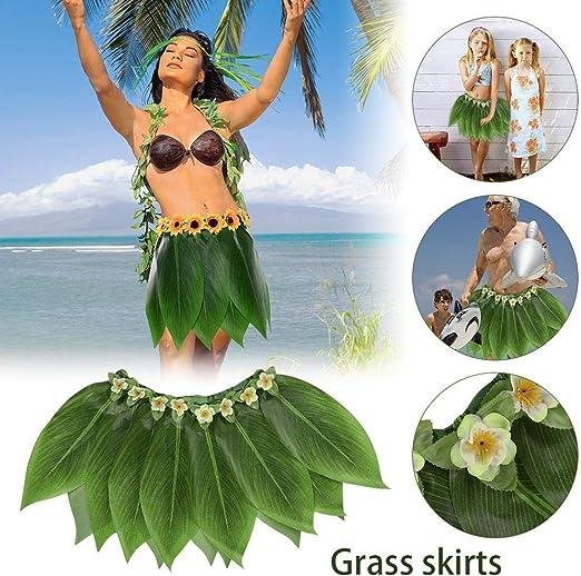 Sue-Supply Falda Hula Fiesta Hawaiana La simulación Deja a los ...