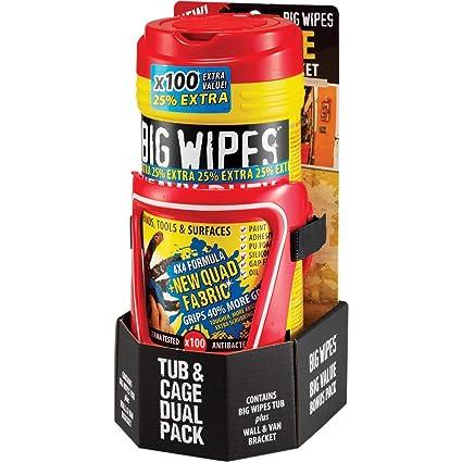 Big Wipes BGW2426 - Toallero de toallitas de alta resistencia (80 + 25% de