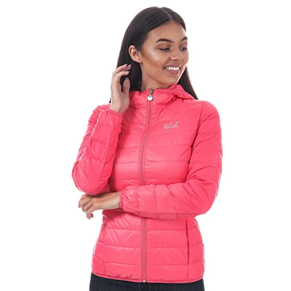f167d9ebe4f9 Emporio Armani Womens EA7 Womens Train Core Down Jacket in Coral - 12  Emporio  Armani EA7  Amazon.co.uk  Clothing