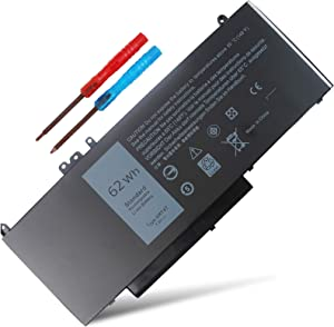 New 62WH 6MT4T Battery Compatible with Dell Latitude 14 5470 E5470 15 5570 E5570 Pricision 15 3510 M3510 Series Notebook 7V69Y TXF9M 79VRK 0HK6DV 07V69Y 079VRK 0TXF9M