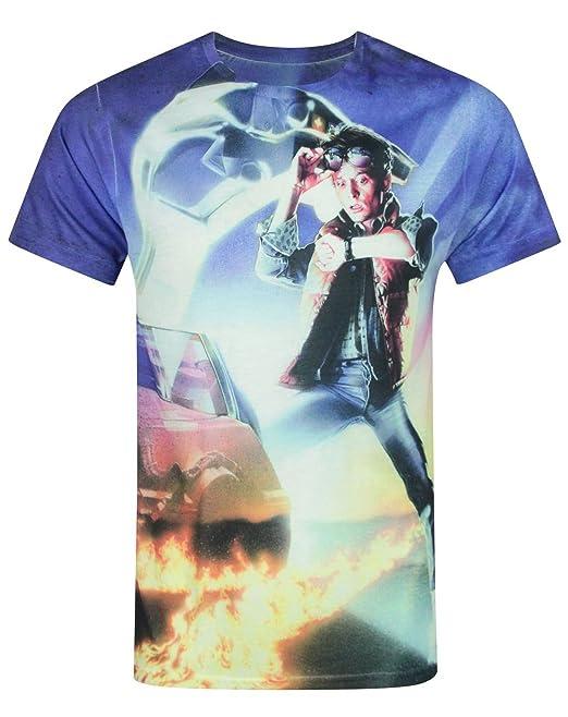 Hombres - Vanilla Underground - Back To The Future - Camiseta (S ... 5da53498cfa3f