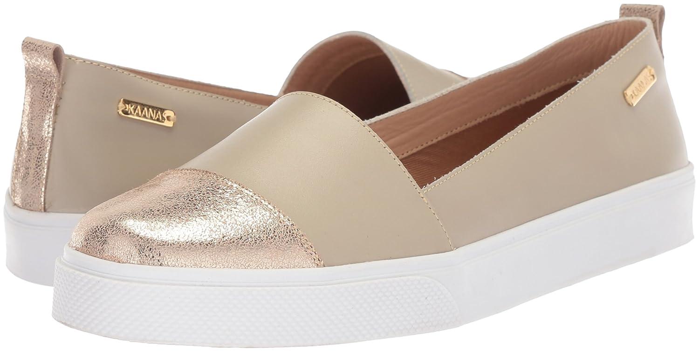 KAANAS Women's Serengeti Fashion Shoe B076FKNWM8 Slip On Casual Sneaker B076FKNWM8 Shoe 9 B(M) US|Cream Metallic 0aac52