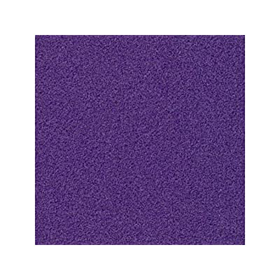Melody Jane Dolls Houses House Miniature 1:12 1:24 Scale Flooring Purple Self Adhesive Carpet: Toys & Games