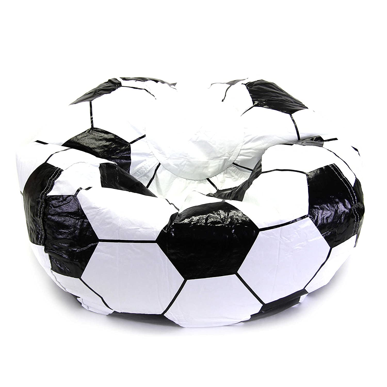 La práctica de deportes de balón de fútbol puf de funda para silla ...