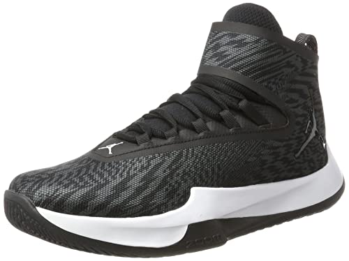 new styles 5d942 a4105 Nike Jordan Fly Unlimited Scarpe da Basket Uomo, Nero Black-Anthracite, 41  EU