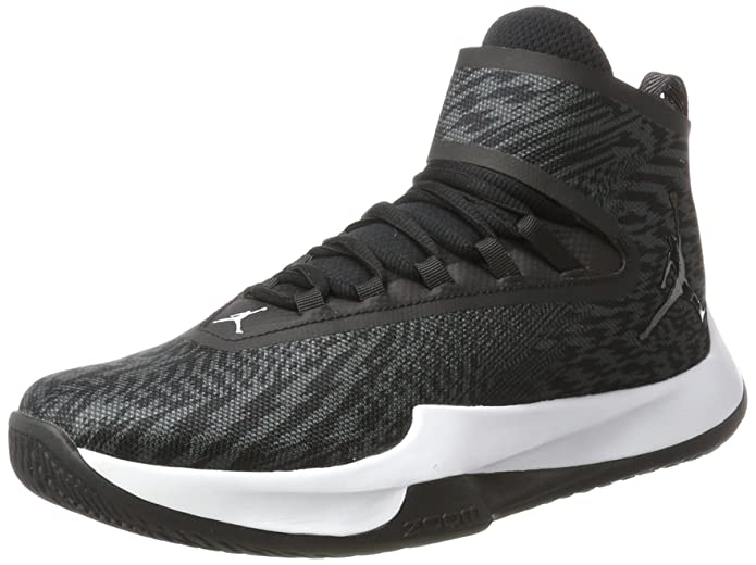 Nike Men's Jordan Fly Unlimited Black / - Anthracite High-Top Basketball Shoe 10.5M