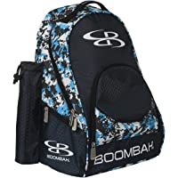 "Boombah Tyro Baseball/Softball Bat Backpack - 20"" x 15"" x 10"" - Camo Series - Multiple Color Options - Holds 2 Bats up…"