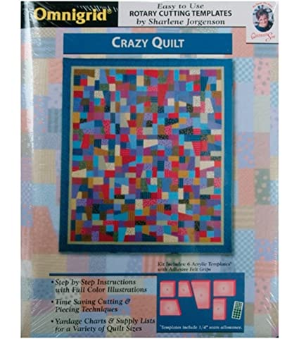 Amazon omnigridr template crazy quilt omnigridr template crazy quilt maxwellsz