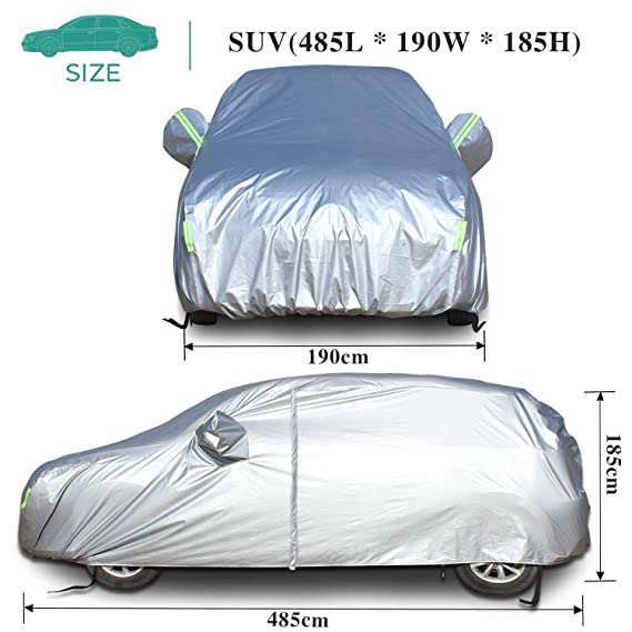PREMIUM HD FULLY WATERPROOF CAR COVER COTTON LINED LUXURY BMW 6 SERIES E63
